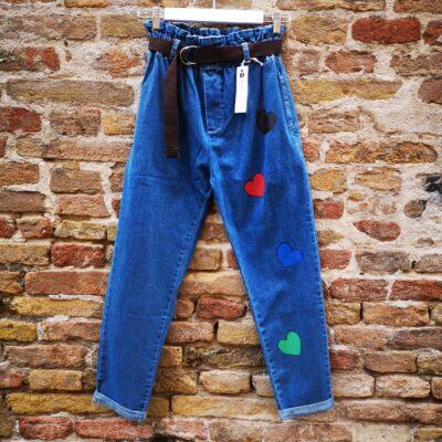 Jeans dipinto a mano