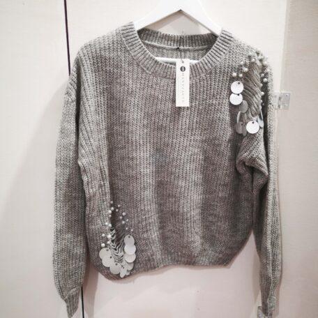 maglia grigia paillettes (3)
