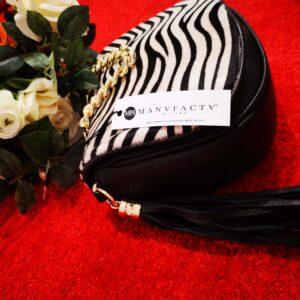 Zabrina Zebra Bag