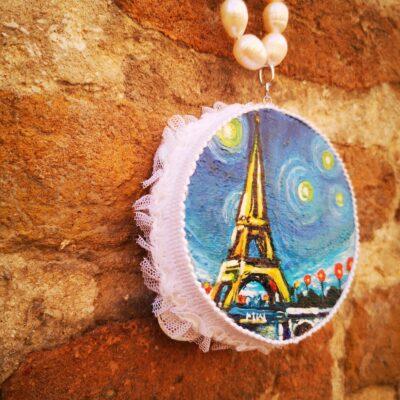 Collana  con perle Parigi