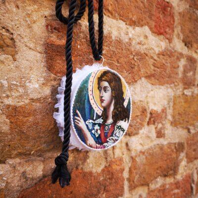 Collana Collier Sant'Arcangelo Gabriele